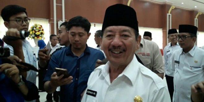 Walikota Bandar Lampung Herman HN