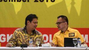 Ketua Umum Golkar Arlangga Hartarto
